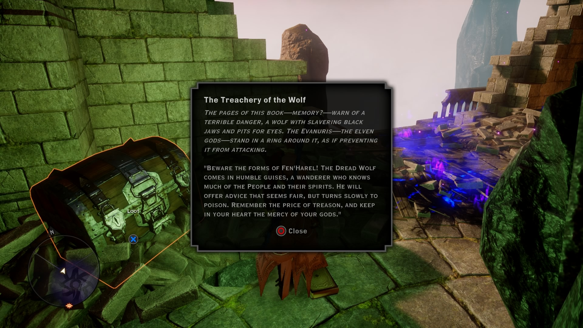 Trespasser DLC: Entry