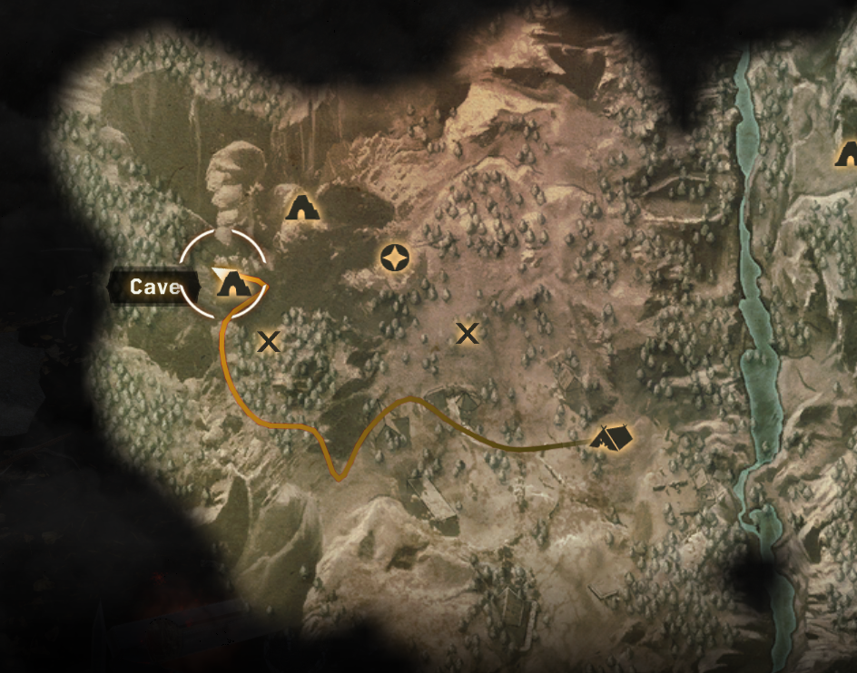 Bugs at Dragon Age Inquisition side quest - Map Of Farmland Cave ...