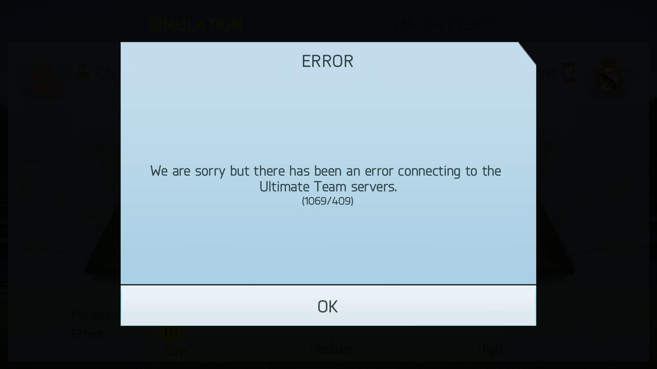 Solved: Error 1069/409 - Answer HQ
