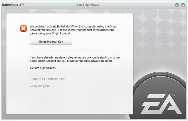 origin sims 3 product code already used