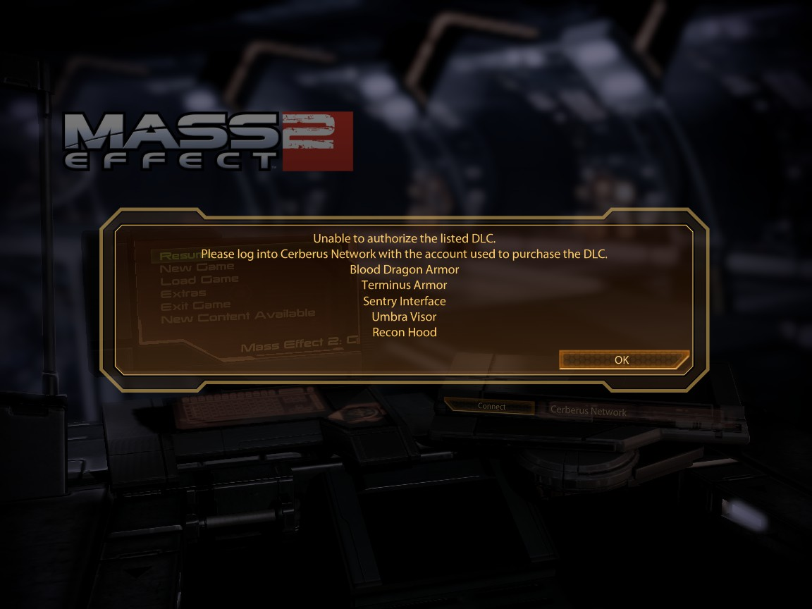 Solved: Re: 3 Mass Effect 2 DLC won't Install on Origin