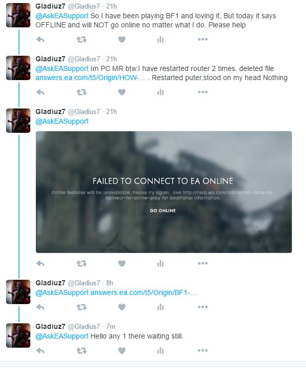 Solved: BF1 offline but online in origin - Answer HQ
