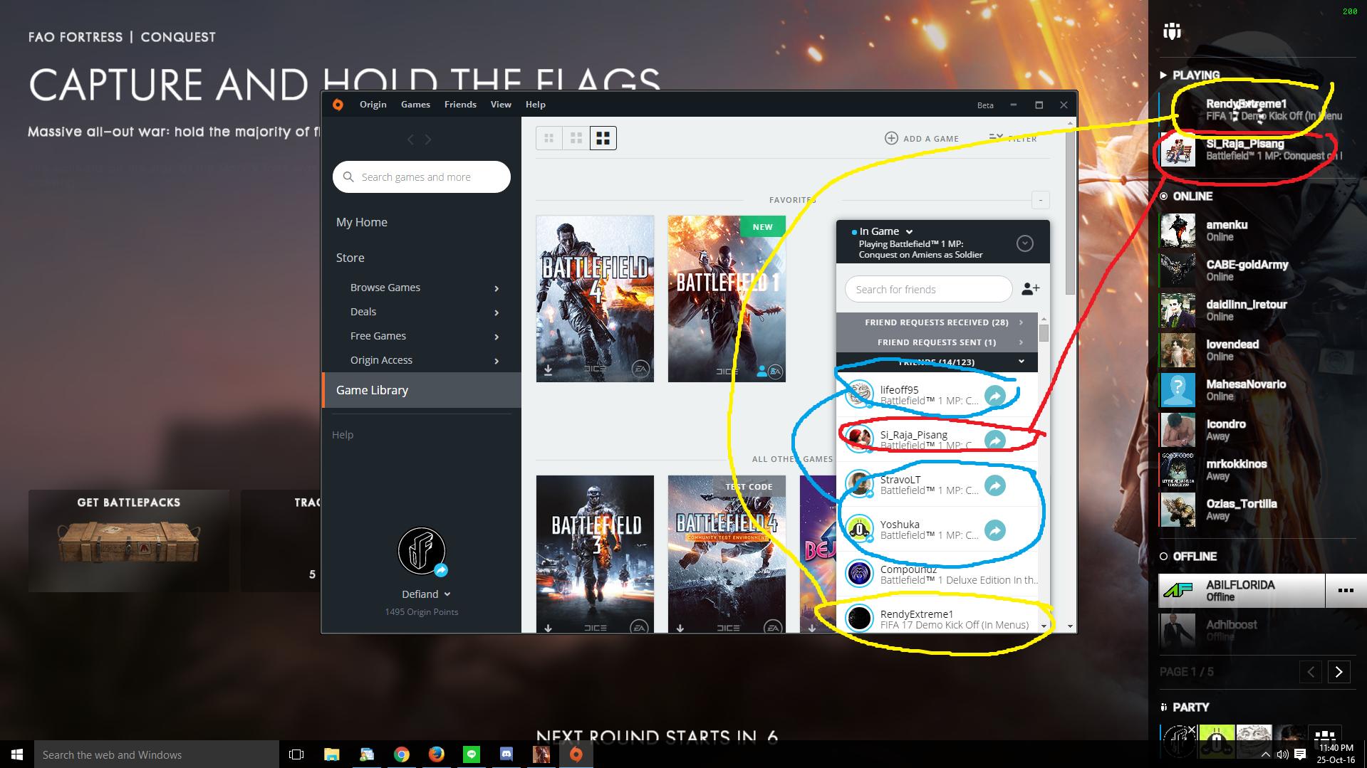 New Friend on Origin Always Appear Offline - Answer HQ