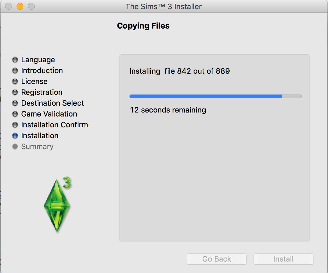 Sims 3 Installation Problem - Mac OS Sierra - Answer HQ