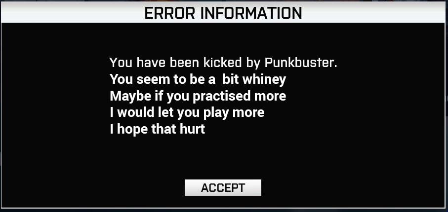 punkbuster ban list