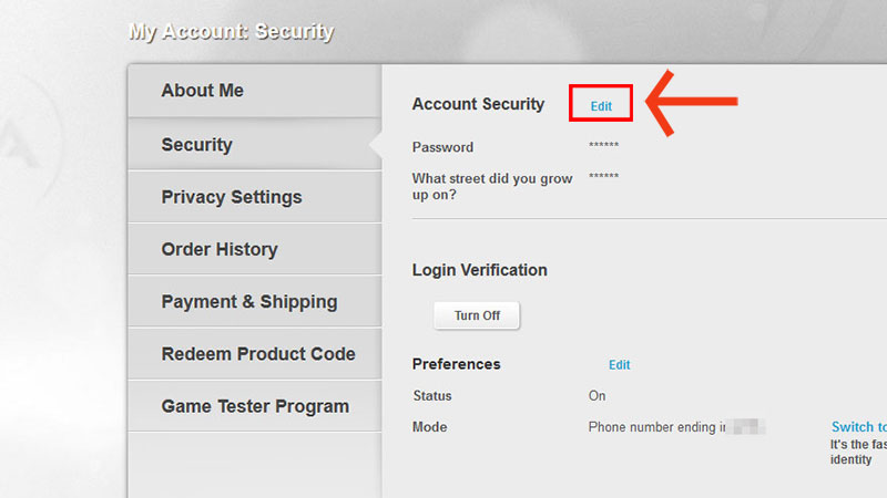 good account security questions
