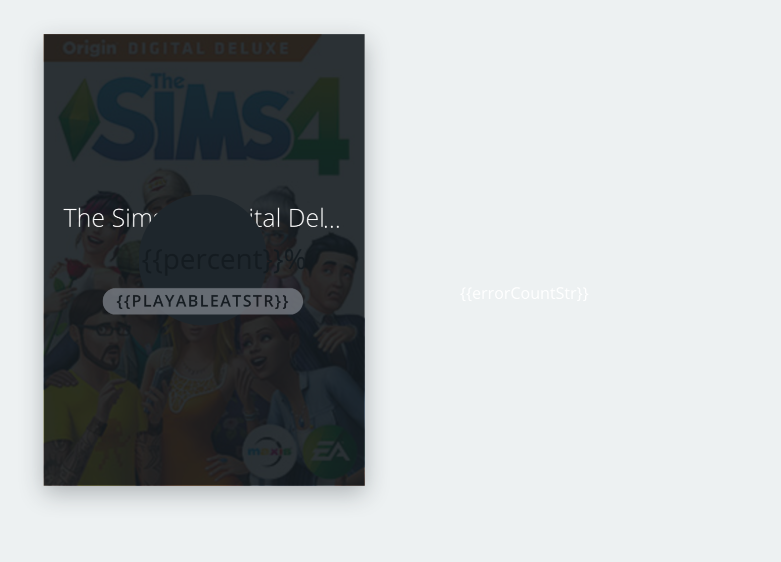 sims 4 update download failed