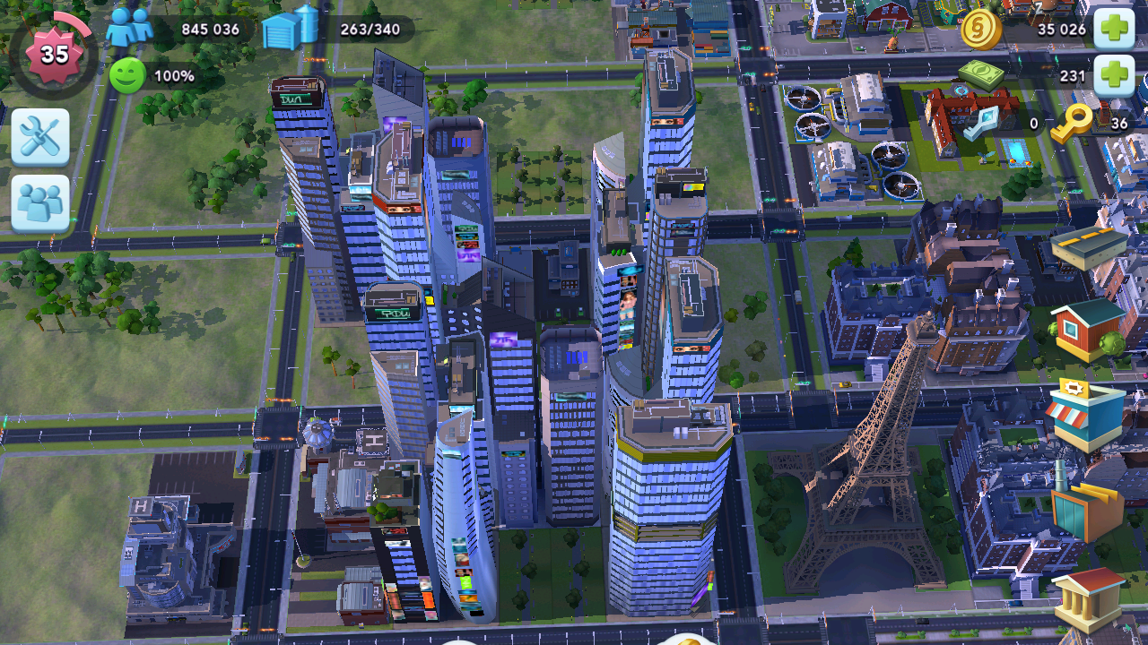 how to use speed up tokens simcity buildit