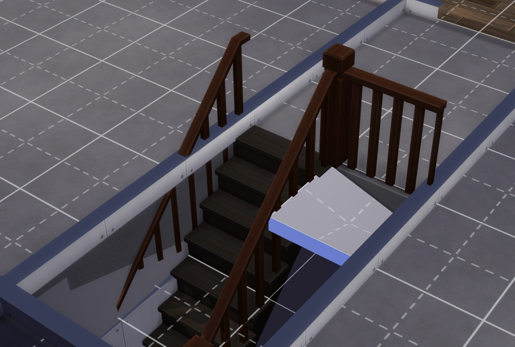 Issue With Placing Stairs In A Basement, How To Build Basement Stairs Sims 4