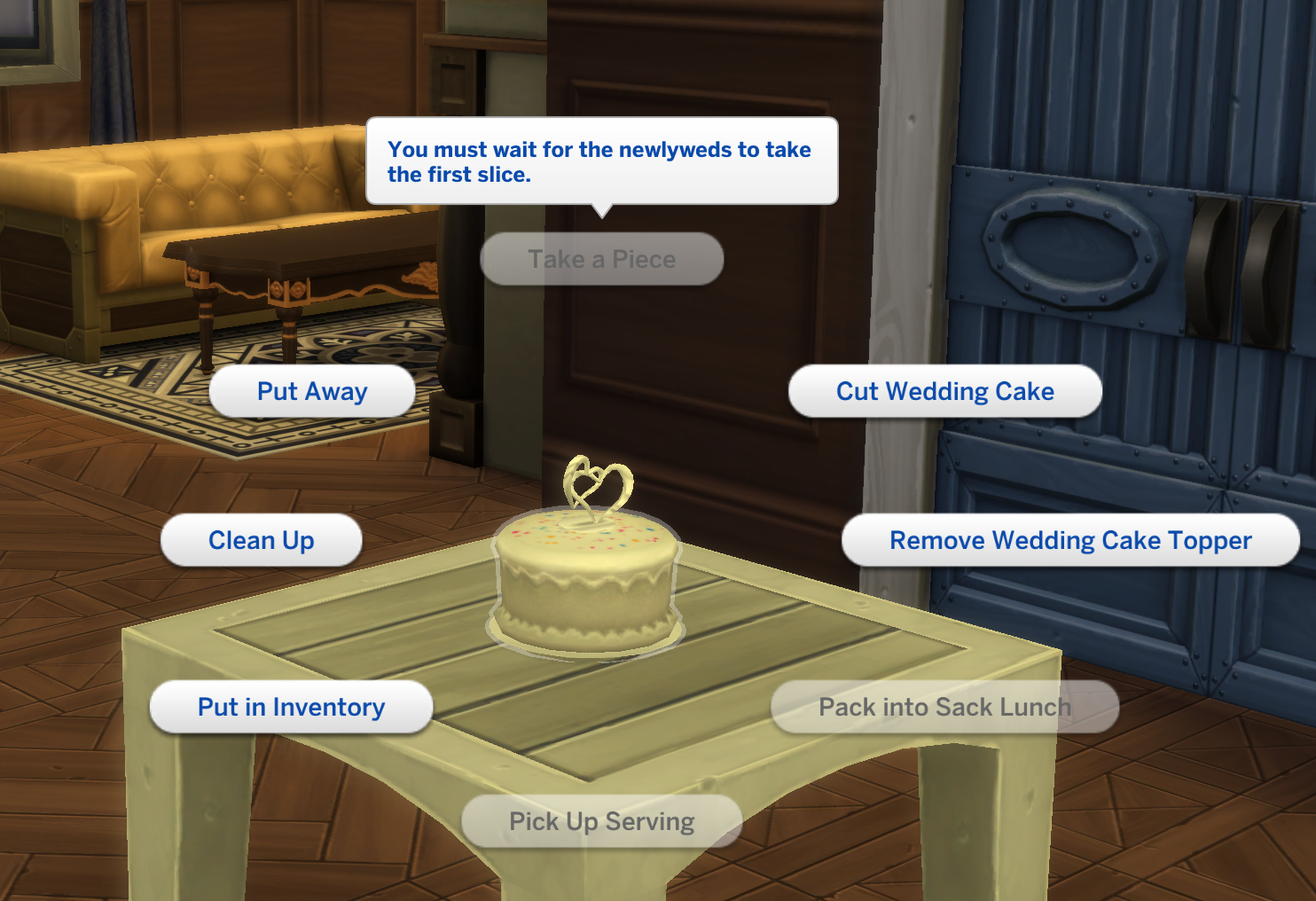 Solved Workaround Newlyweds Can T Cut First Slice Of Wedding Cake Answer Hq