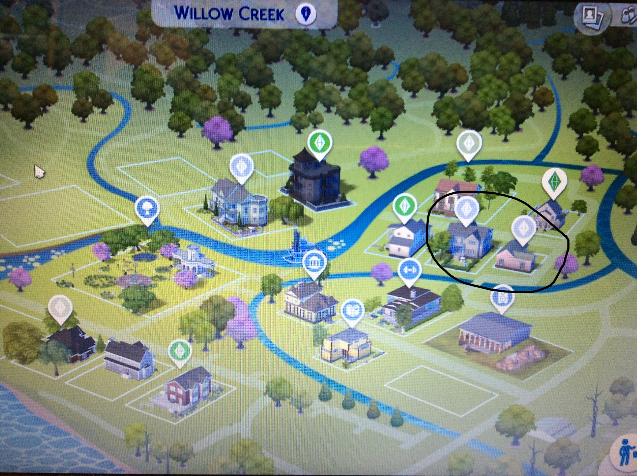 Can't select some houses/lots - Answer HQ