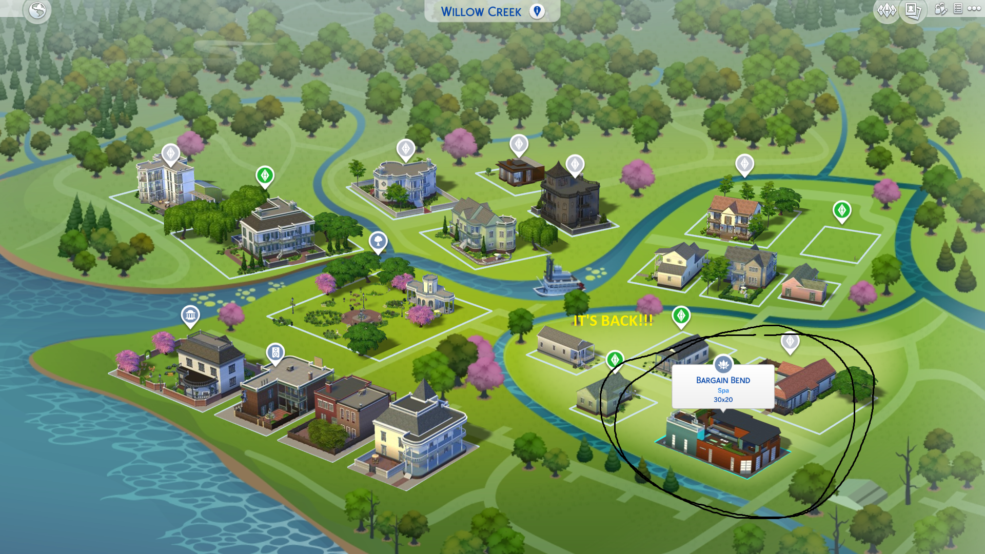 Sims 4: Community Lots and Houses Missing or Invisible