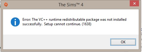 The VC++ runtime error (1638) - Answer HQ