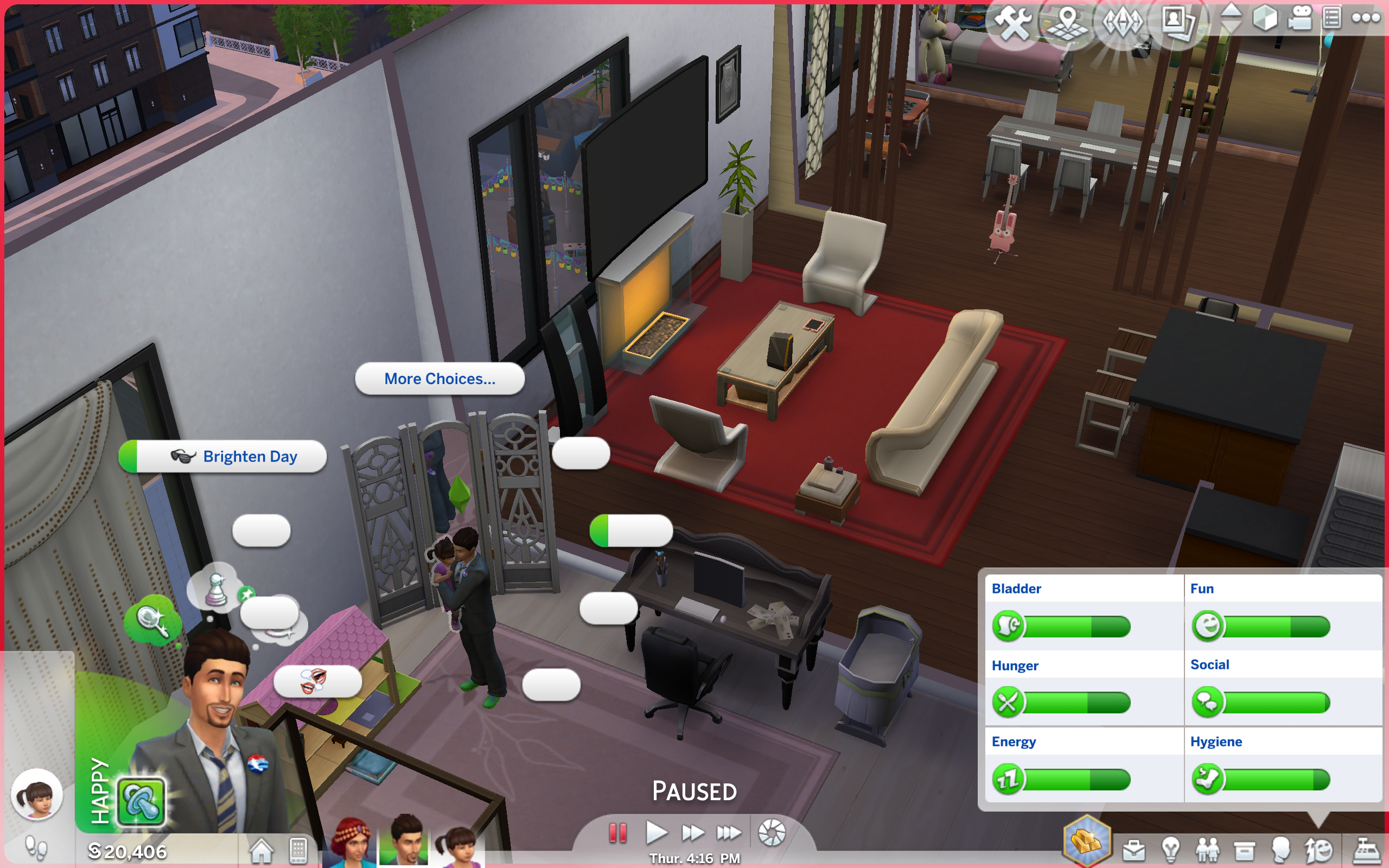 Sims 4 Game Problem: The labels on actions won't show up! - Answer HQ