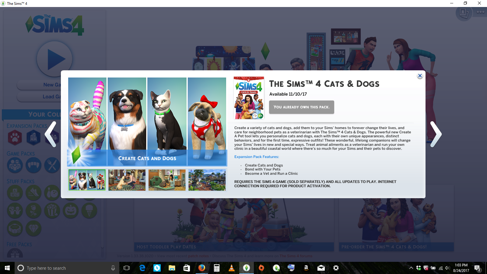 Ea Origin Cats And Dogs Sims