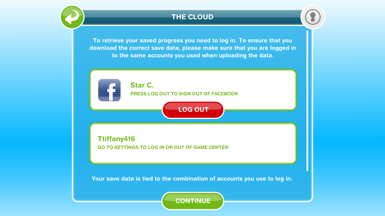 Can't download saved data  Sims freeplay - Answer HQ
