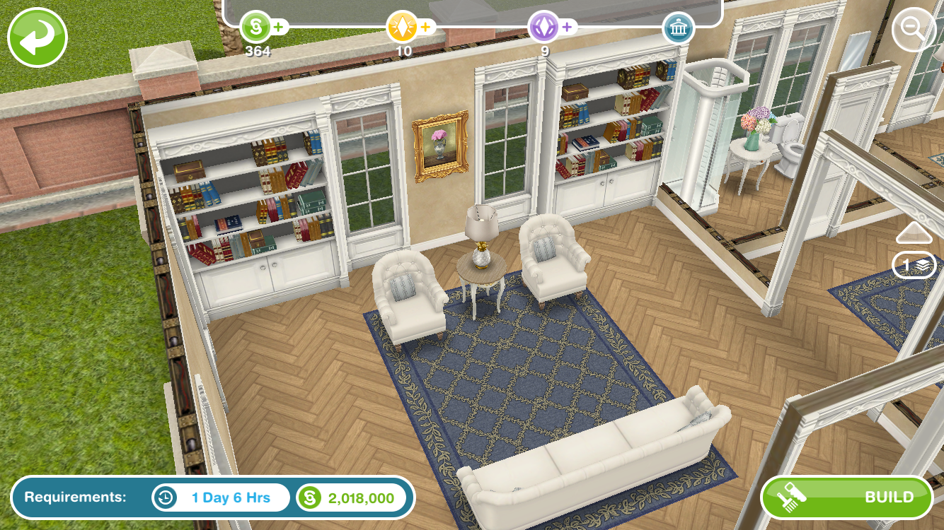 Kinda everything in these rooms   I probably missed out on something like  you said  I just don t remember seeing them anywhere. Solved  Sims Freeplay Architect Homes   Answer HQ