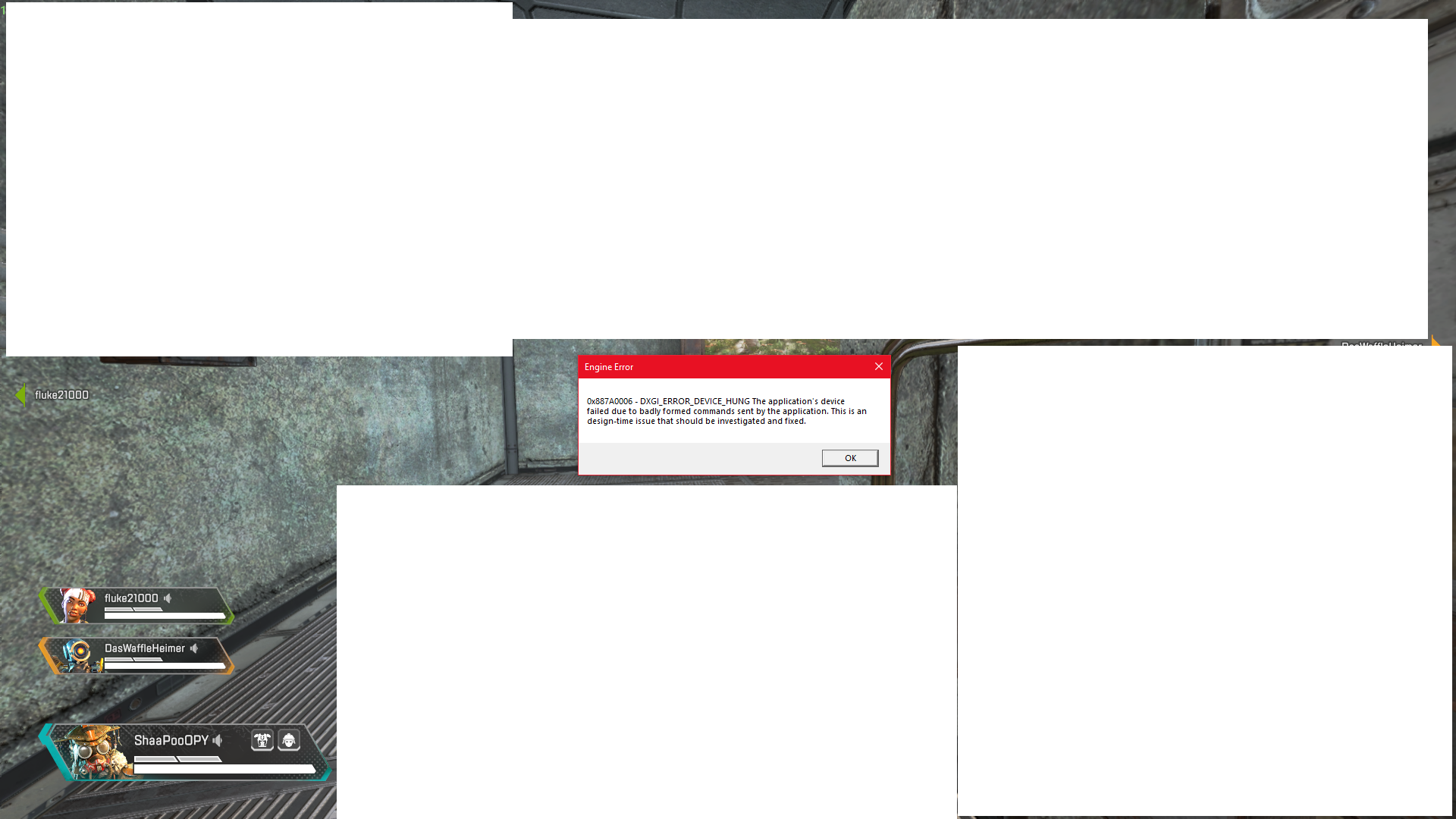 Apex legends crashing without error - Page 107 - Answer HQ