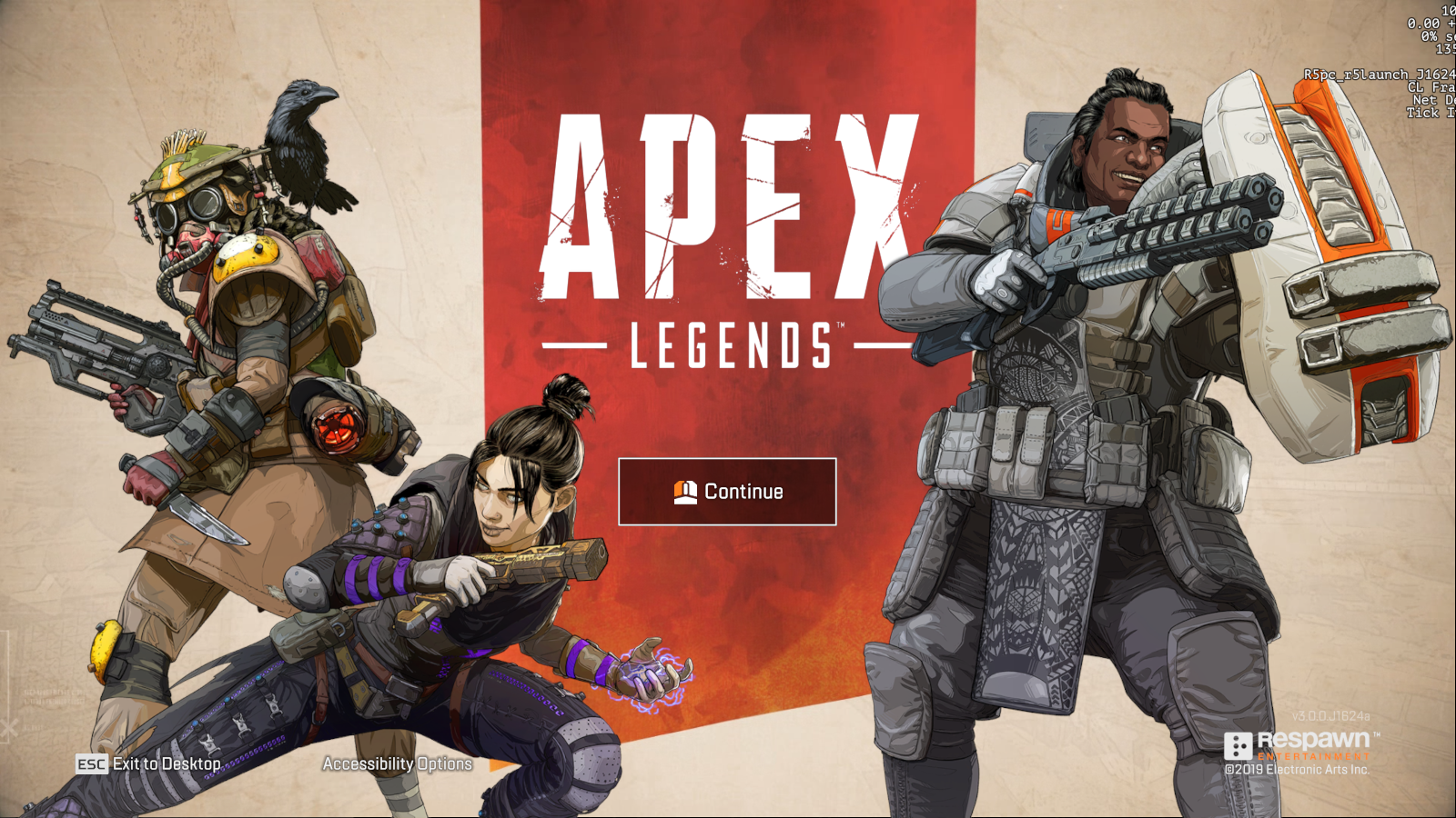 having trouble with FPS counter [Apex Legends] - Answer HQ