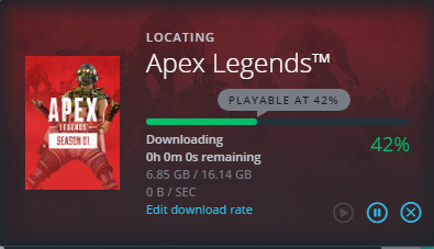 Solved: [Apex] Problems downloading, stuck at 42%  - Answer HQ