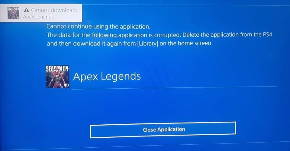 Ps4 apex ダウンロード