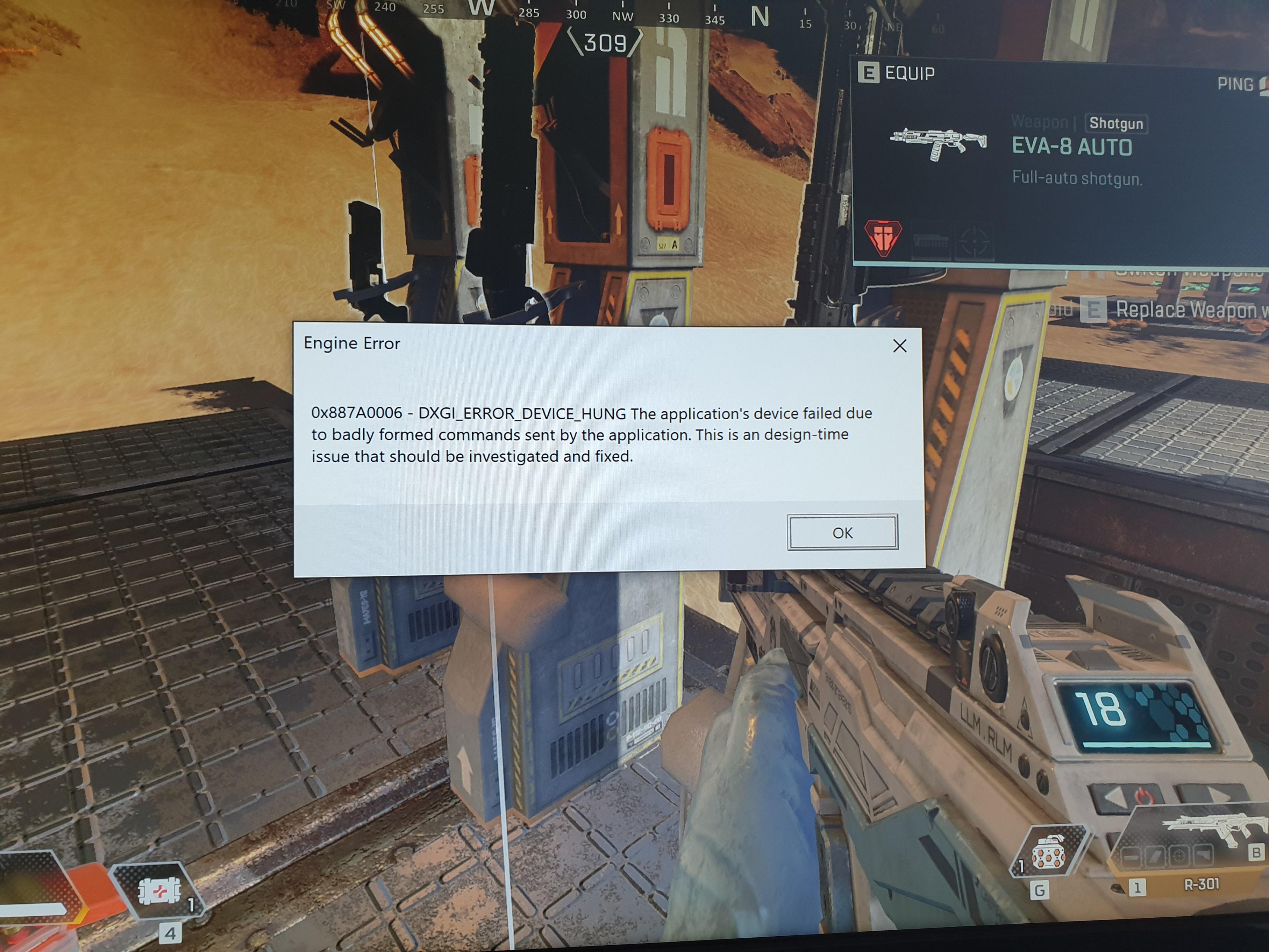 Apex Legends crash - Page 3 - Answer HQ