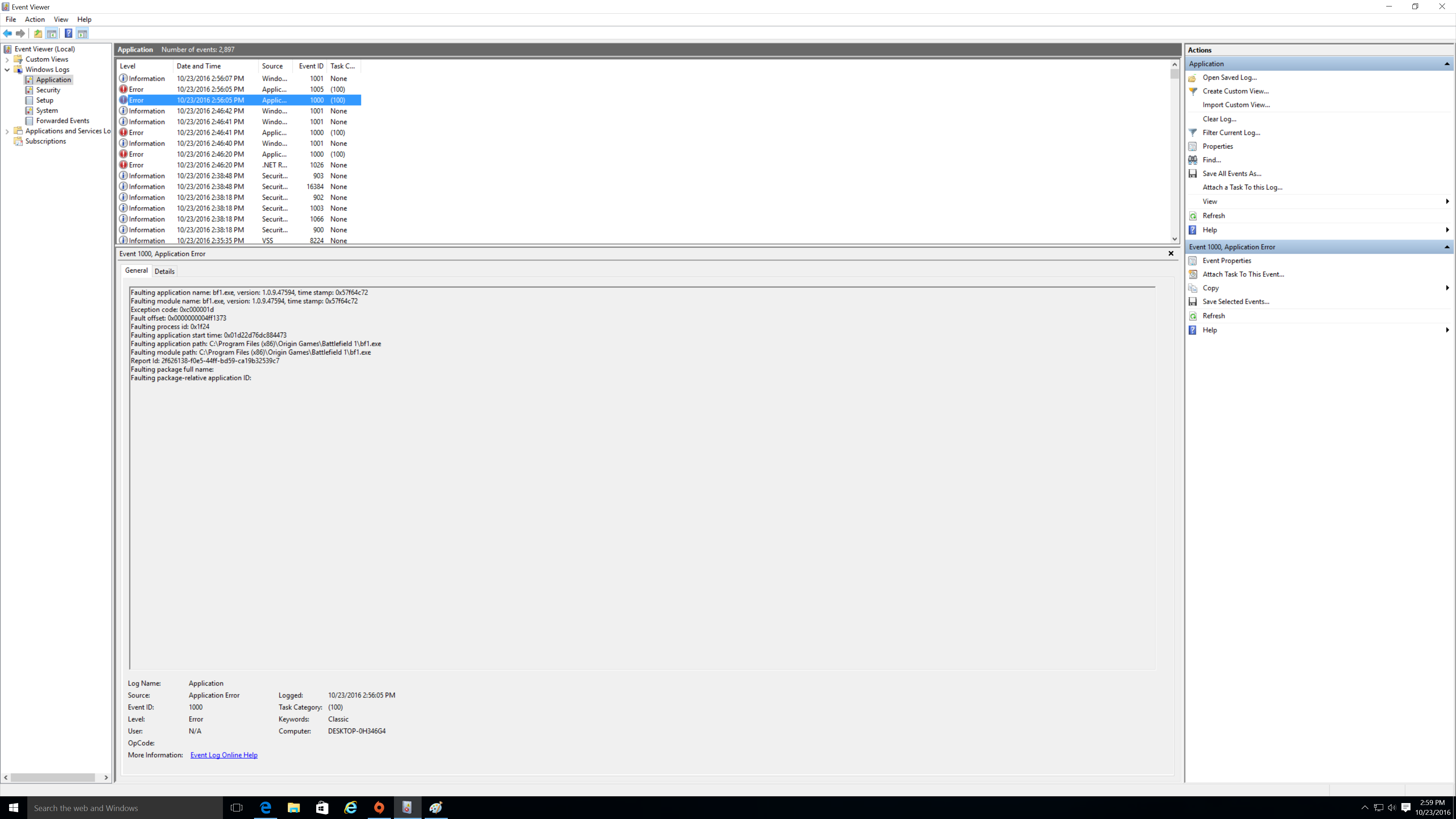 Solved: Battlefield 1 windows 10 keeps crashing