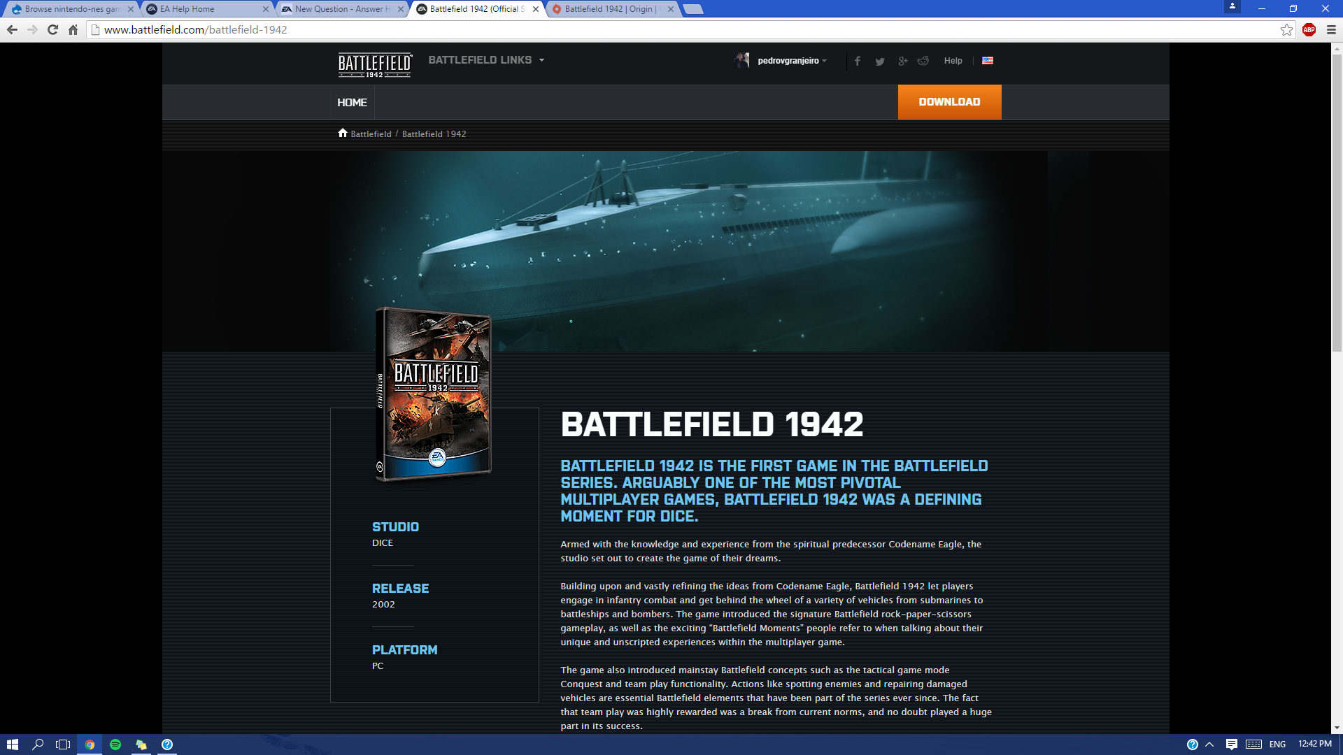battlefield 1 pc download free multiplayer