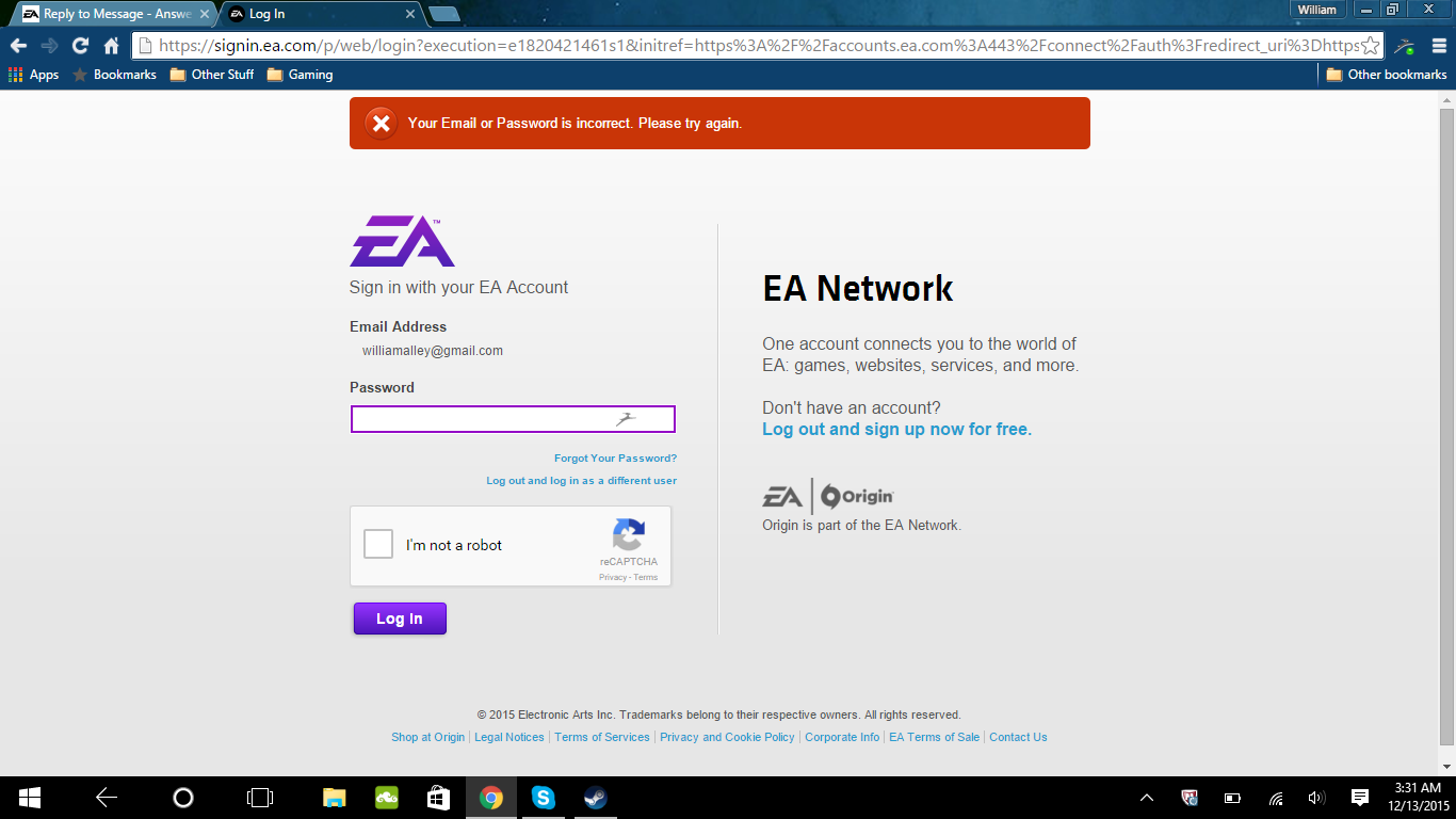 Solved: [FAQ]Connecting EA/Origin ID with PSN to enter Battlelog