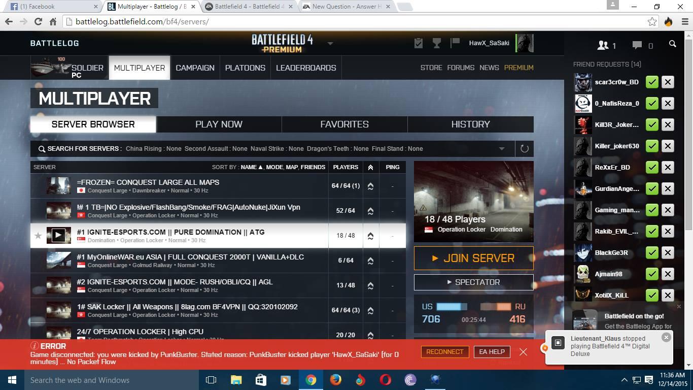 punkbuster battlefield 4