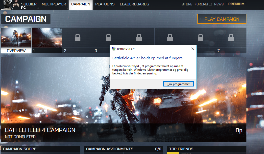PC] Battlefield 4 keeps crashing after launch - Answer HQ