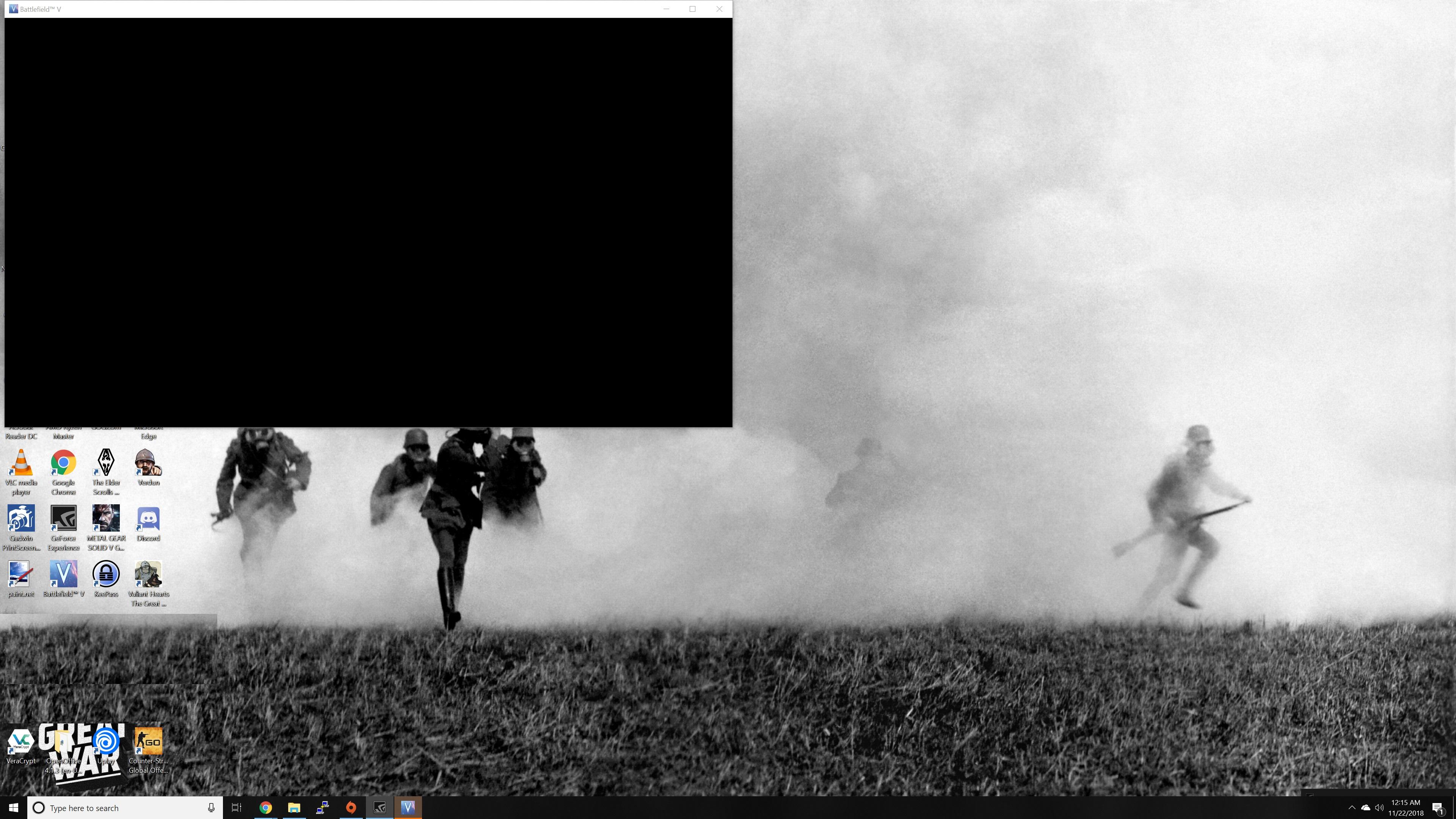 Battlefield 1 Black Screen When Joining Game | Gameswalls org