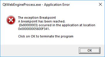 Solved: BFV crash qtwebengineprocess exe error - Answer HQ