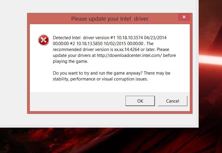 Star Wars: Battlefront Driver Error - Answer HQ