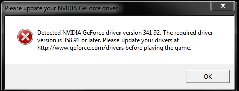Solved: Geforce GTX 285 driver update required - Answer HQ