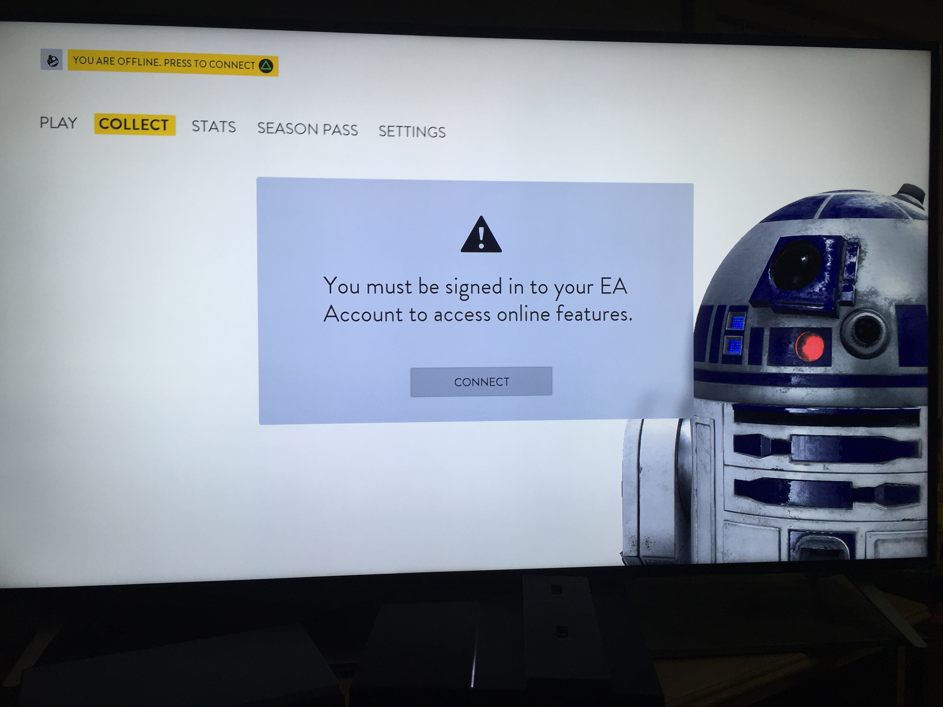 PS4 Battlefront unable to connect to EA server - Answer HQ