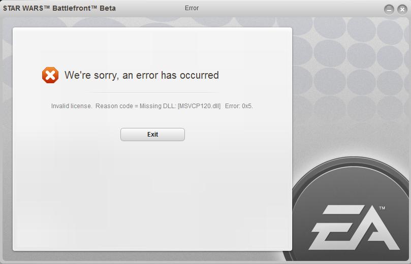 Solved: Error message when starting Origin: 'Program IGOProxy64 exe