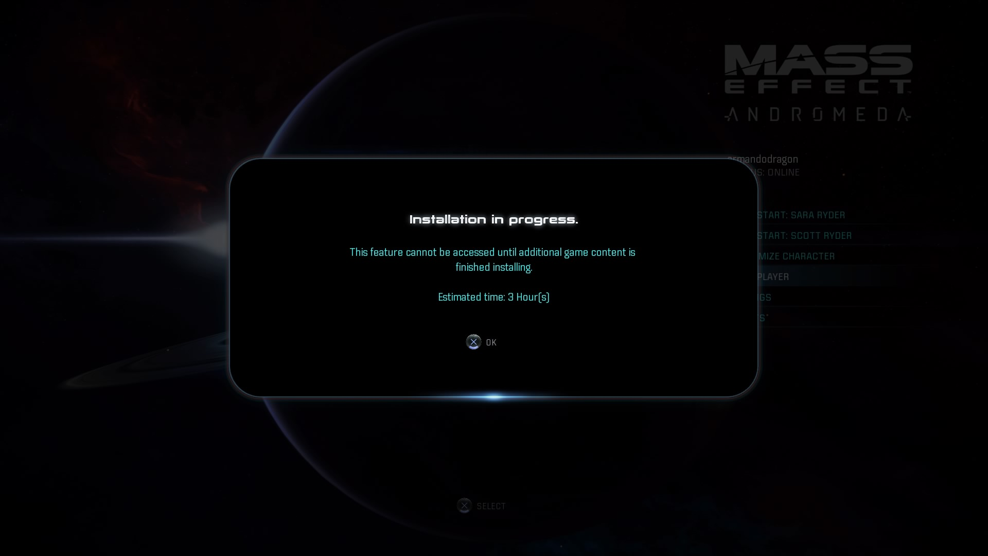 mass effect the application was unable to start correctly
