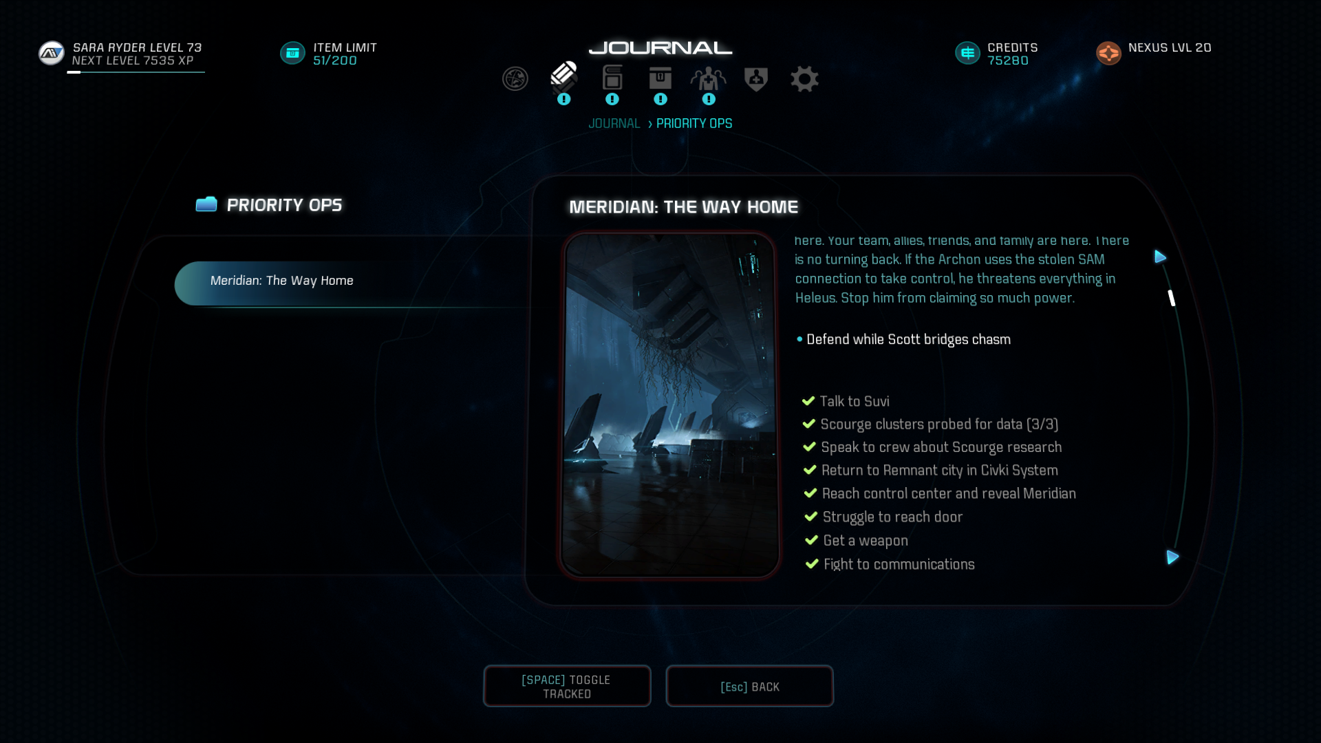 priority ops mass effect andromeda