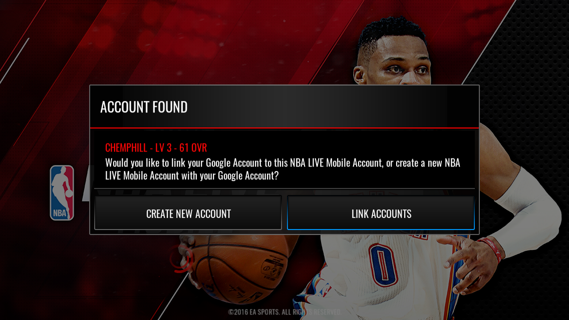 d1d4acbd Nba live mobile - issue logging in - Answer HQ