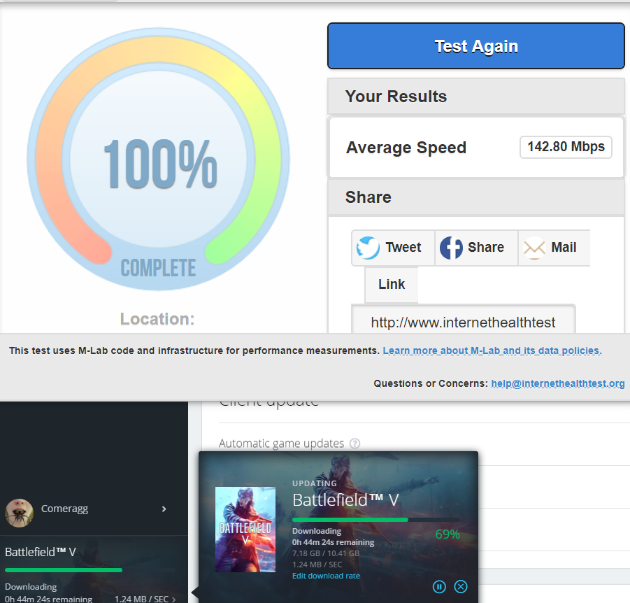 Solved: why are the download speeds extremely slow on origin? - Page