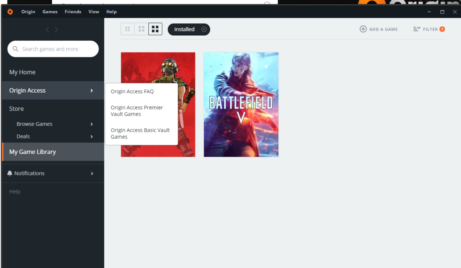 Origin app looks low quality/resolution - Answer HQ