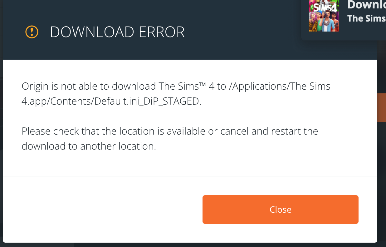 Solved: Sims 4 Update Error - Answer HQ