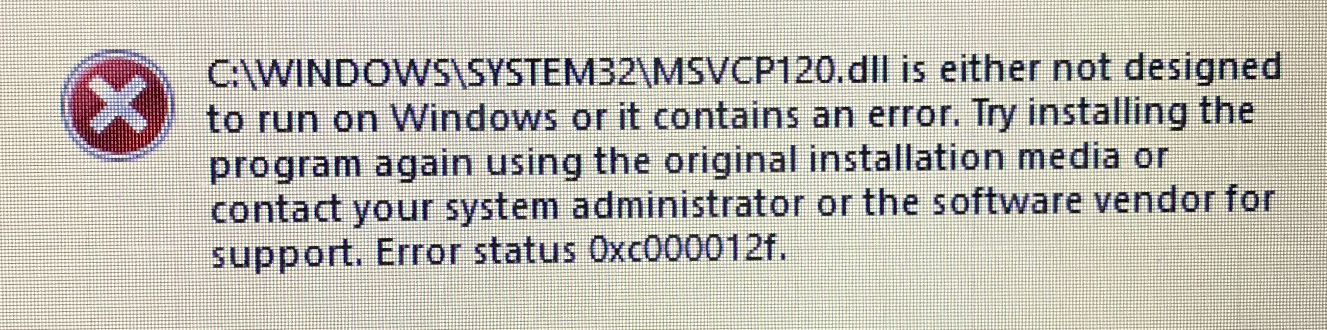 Solved: Origin Error 0xc000007b / 0xc000012f - Page 15 - Answer HQ