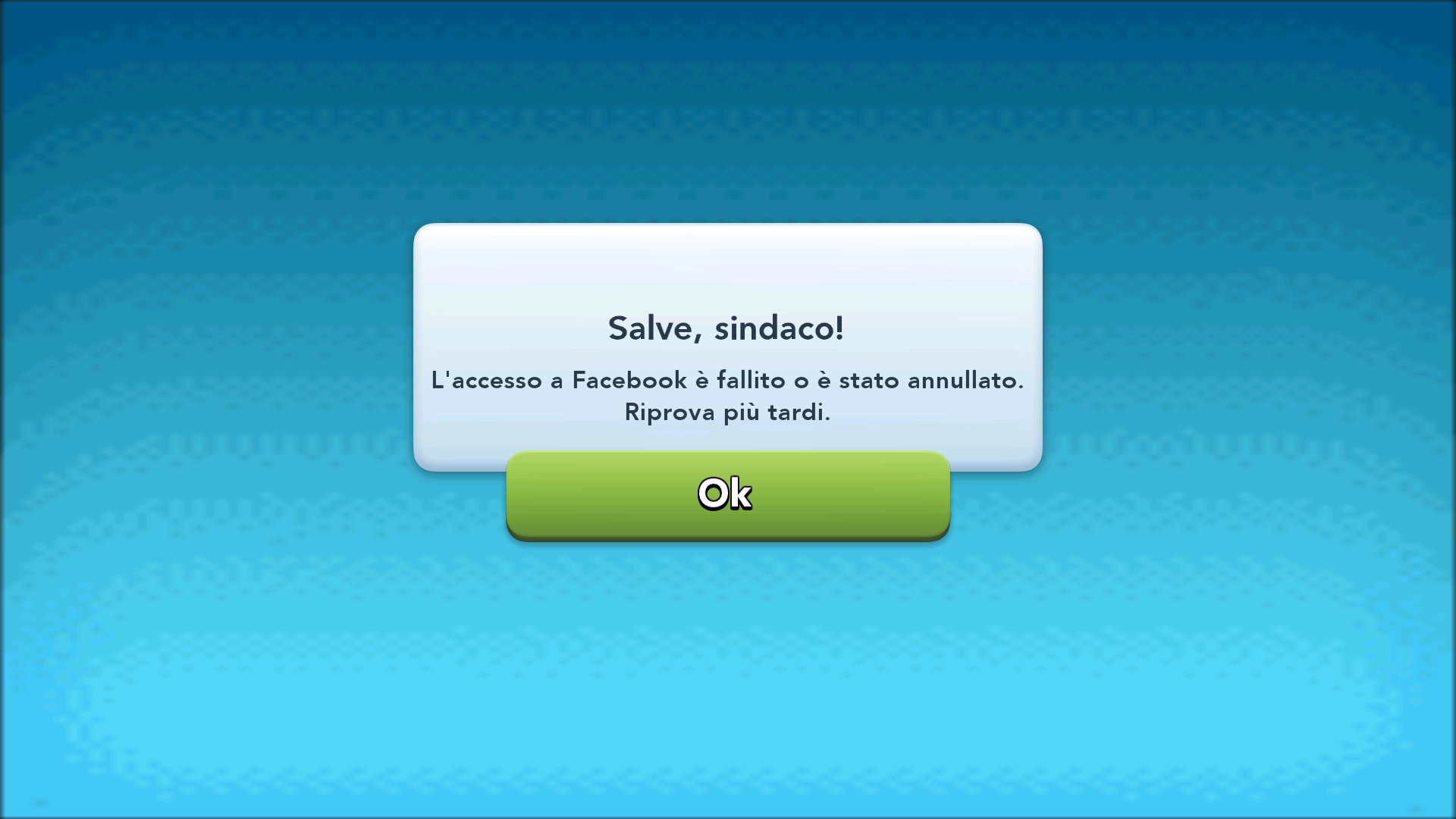 Simcity buildit facebook access problem - Answer HQ