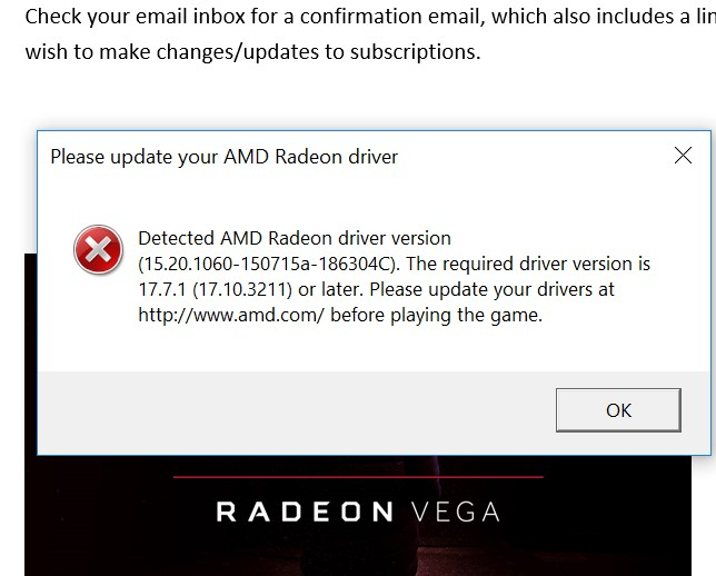 Solved: Update AMD Radeon Drivers To play - Answer HQ