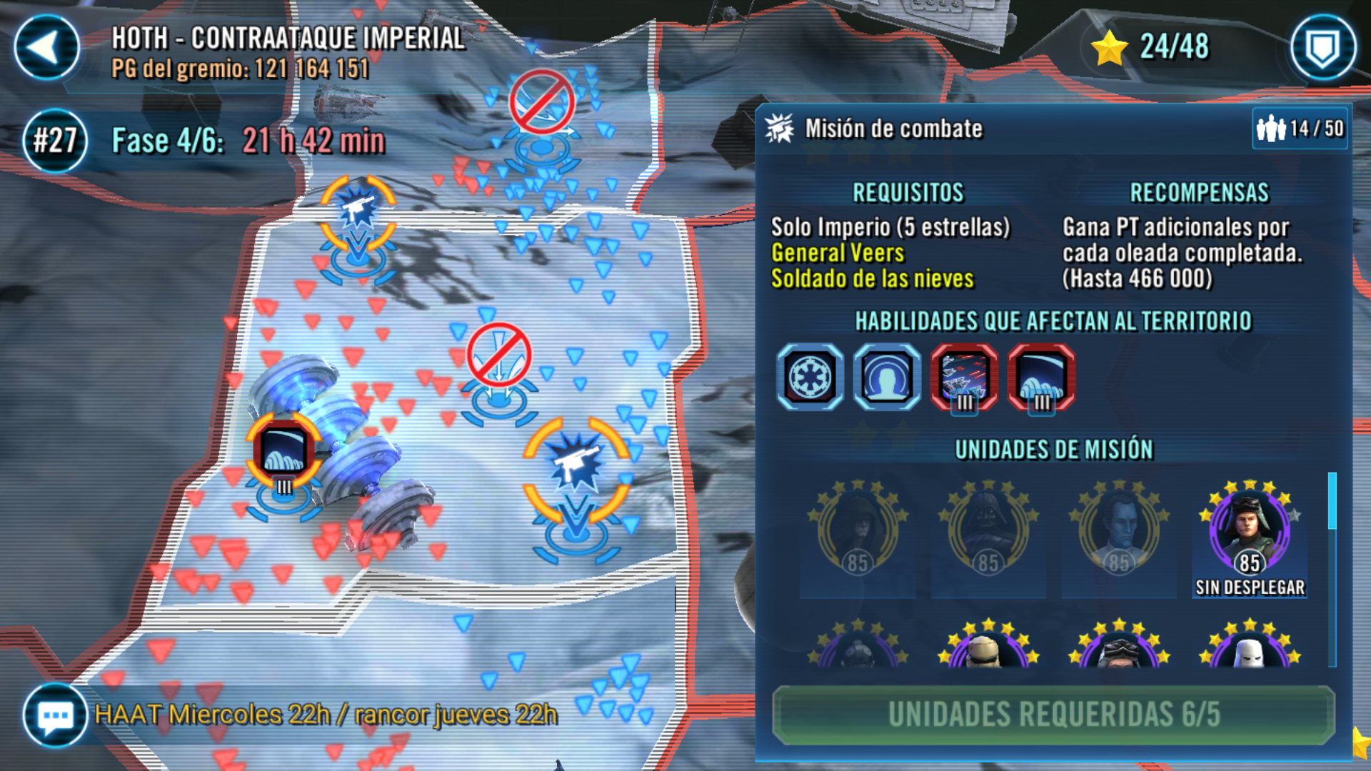 Solved Can T Battle In Empire Only Mission In Phase 4 Answer Hq