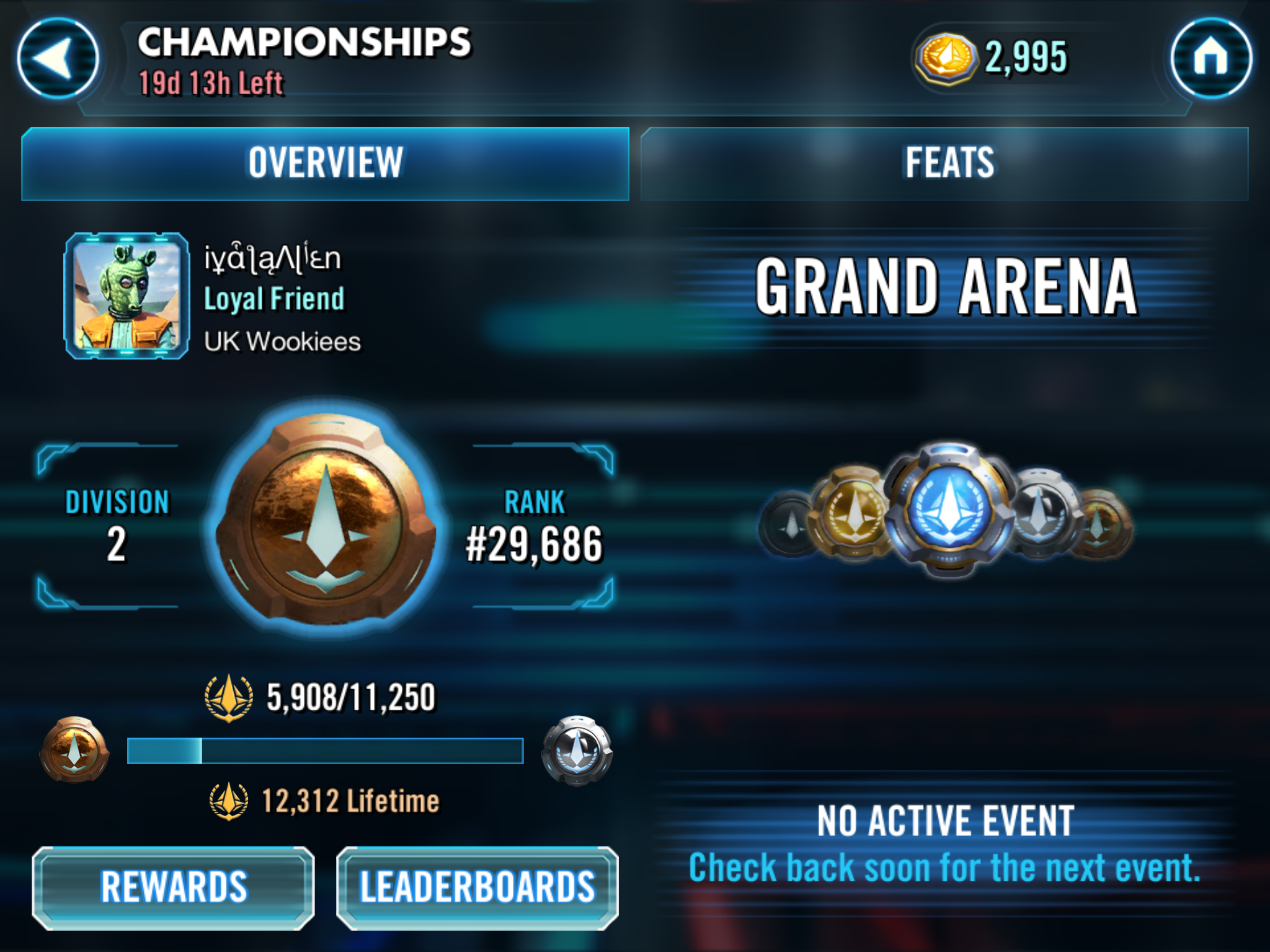Grand Arena Championship Crash and Sign up Issues - Page 21 - Answer HQ