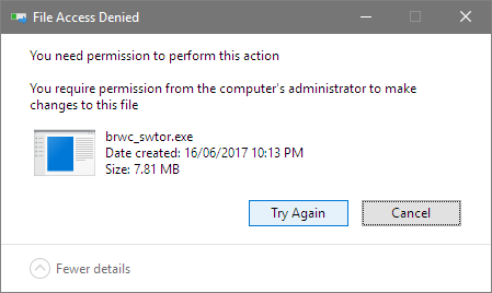 Solved: Can't fully uninstall SWTOR or even delete setup - Answer HQ