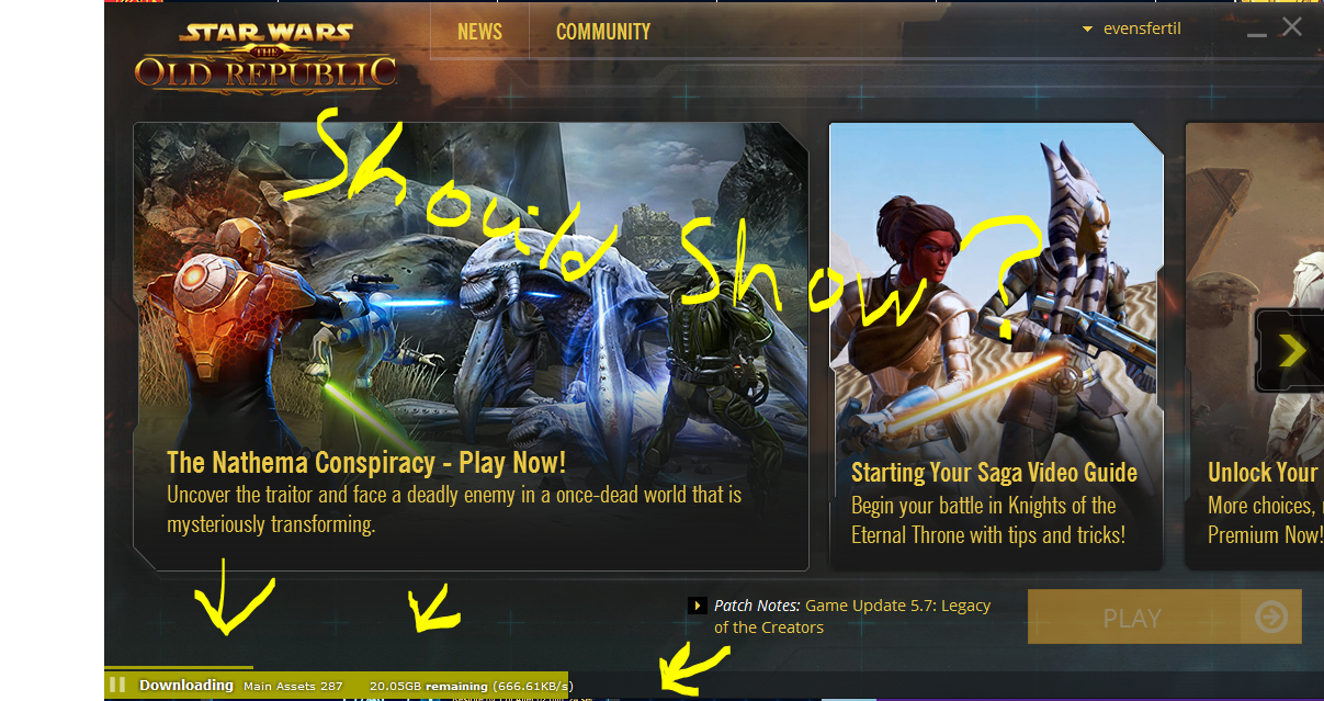 Swtor launcher updating forever dating age law